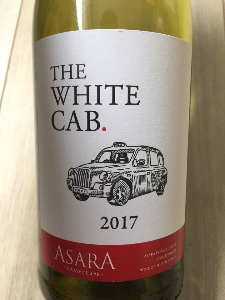Asara Private Cellar – The White Cab. 2017 – Stellenbosch, South Africa