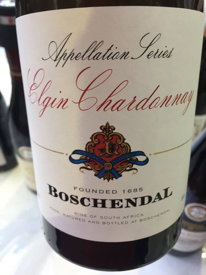 Boschendal – Appellation Séries – Elgin Chardonnay 2015 – South Africa