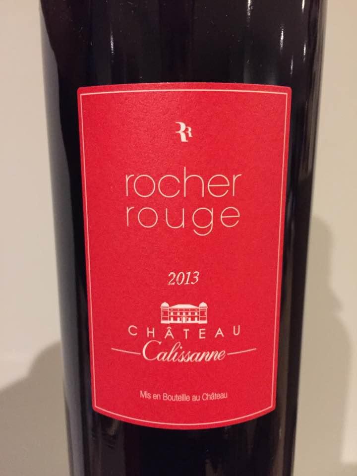 Château Calissanne – Rocher Rouge 2013 – Côteaux d'Aix-en-Provence