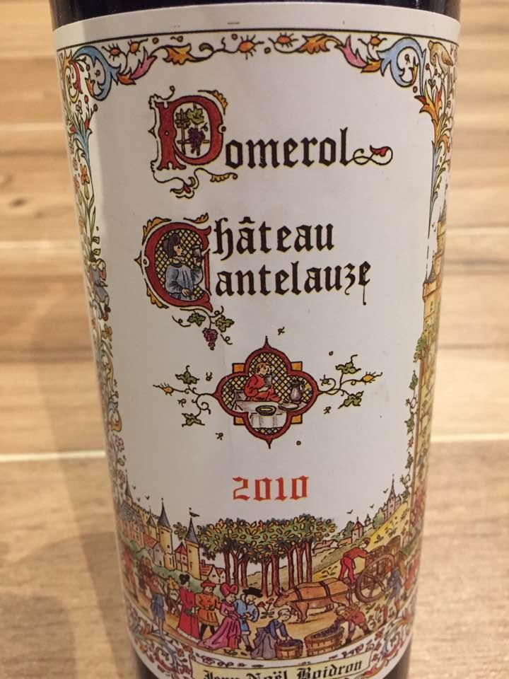 Château Cantelauze 2010 – Pomerol