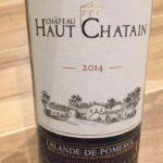 Château Haut Chatain 2014 – Lalande-de-Pomerol