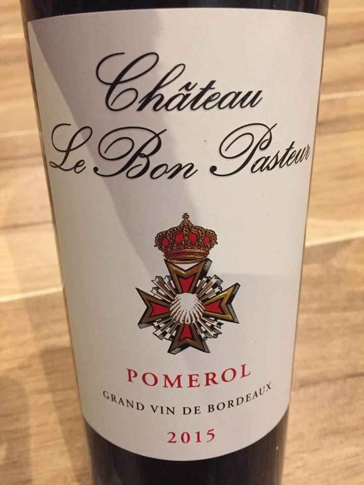 Château Le Bon Pasteur 2015 – Pomerol