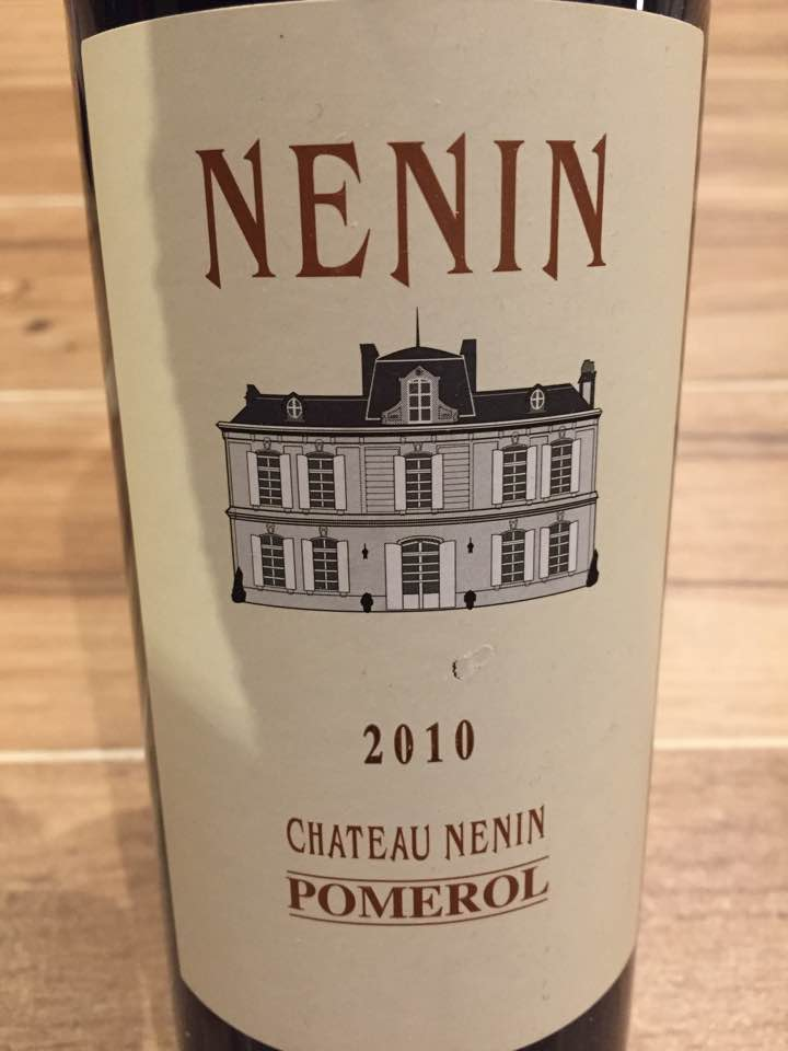 Château Nénin 2010 – Pomerol