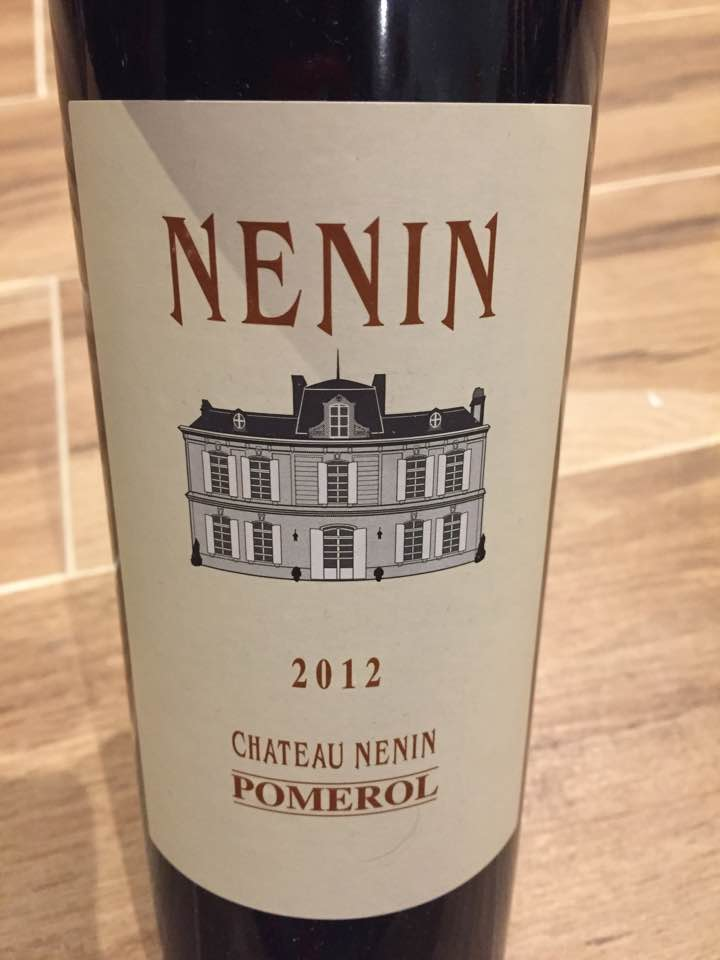 Château Nénin 2012 – Pomerol