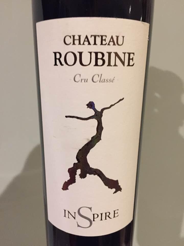 Château Roubine – Inspire 2015 – Cru Classé, Côtes de Provence