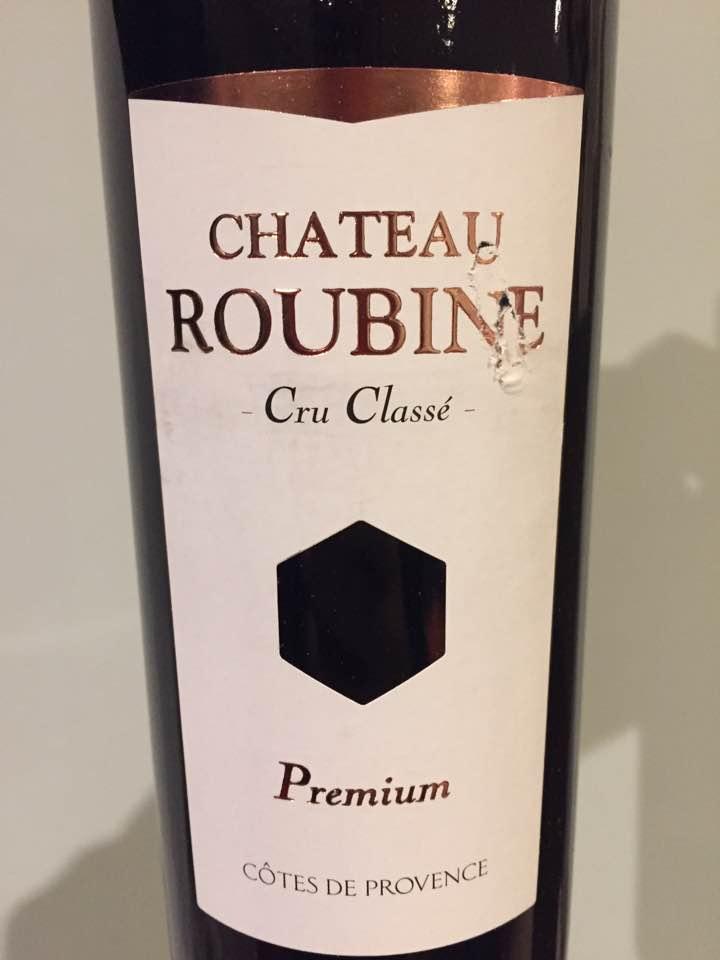Château Roubine – Premium 2014 – Côtes de Provence – Cru Classé