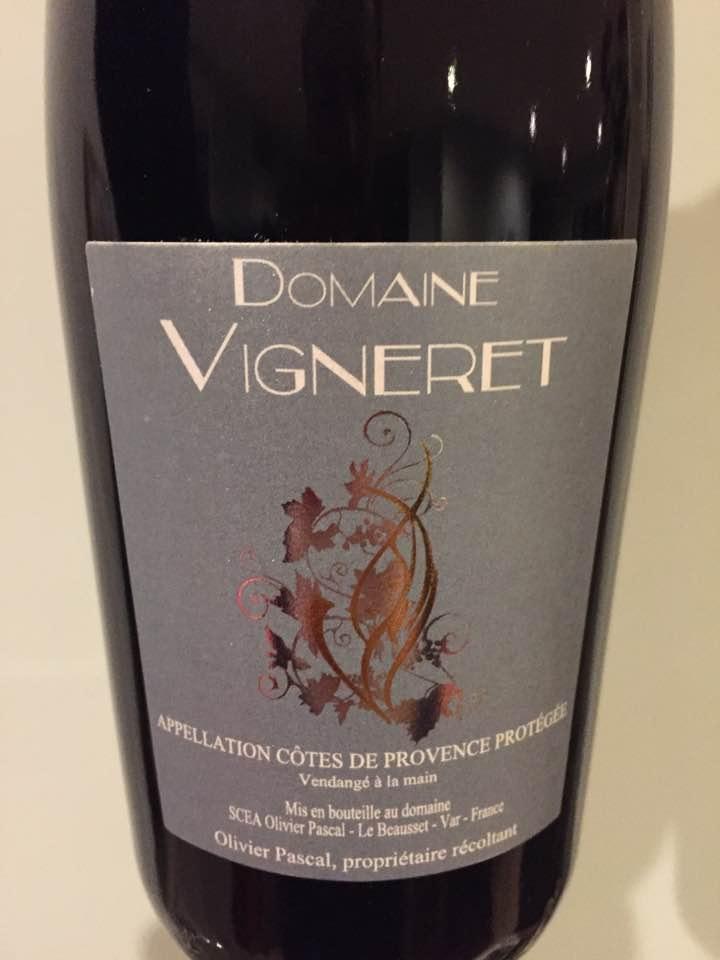 Domaine Vigneret 2015 – Côtes de Provence