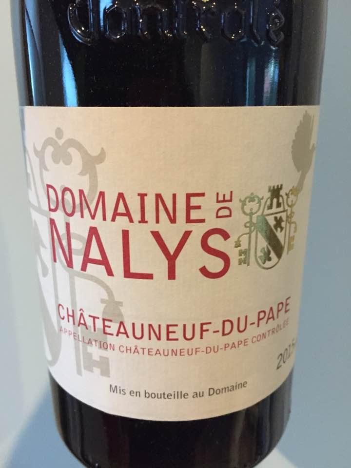 Domaine de Nalys 2015 – Châteauneuf-du-Pape
