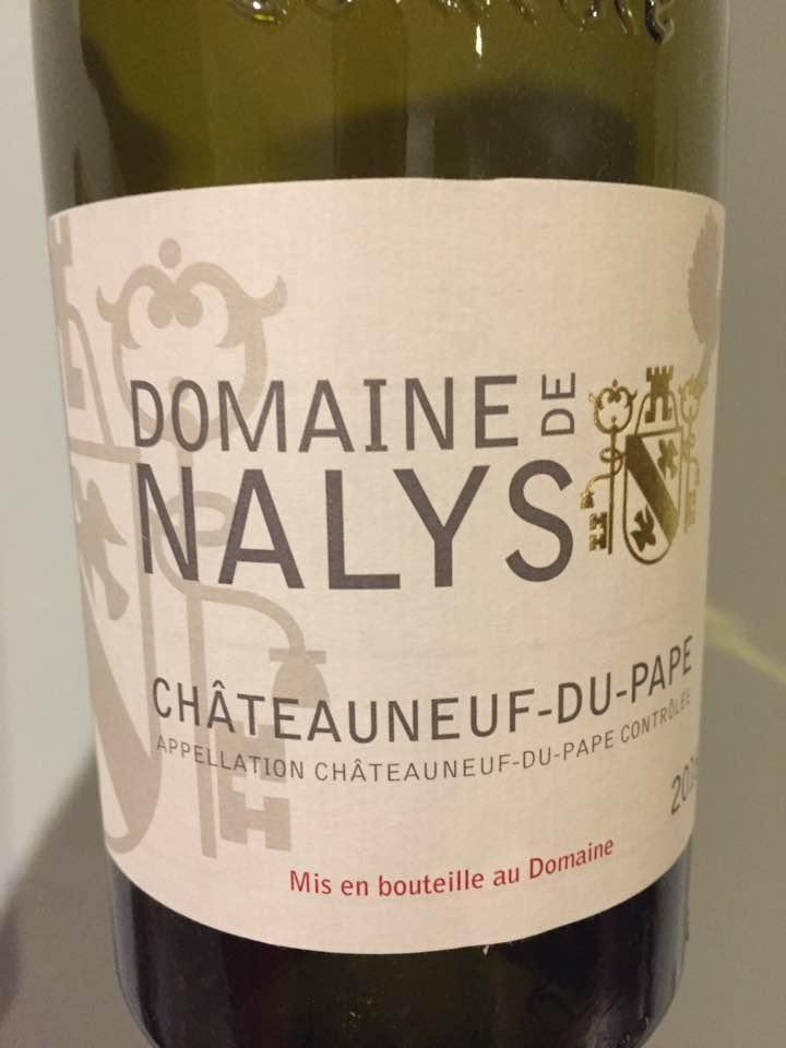 Domaine de Nalys 2016 – Châteauneuf-du-Pape
