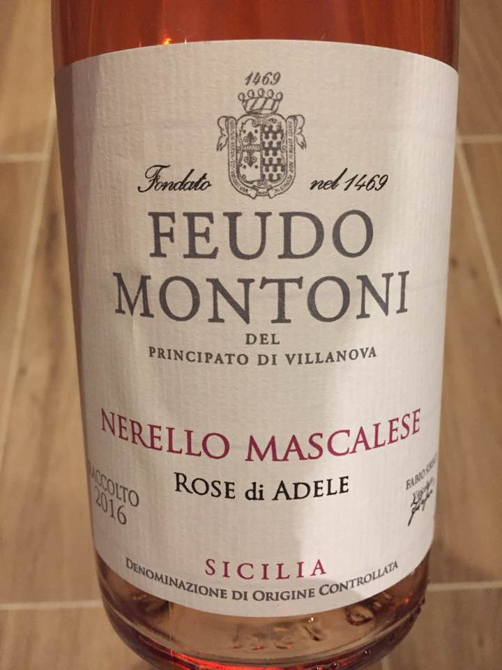 Feudo Montoni – Nerello Mascalese – Rose di Adele 2016 – Sicilia DOC
