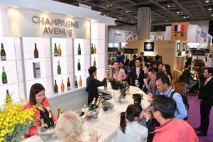 Un nouveau succès pour Hong Kong International Wine & Spirits 2017