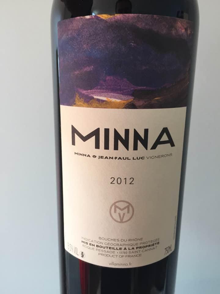 Minna 2012 – Bouches-du-Rhône IGP