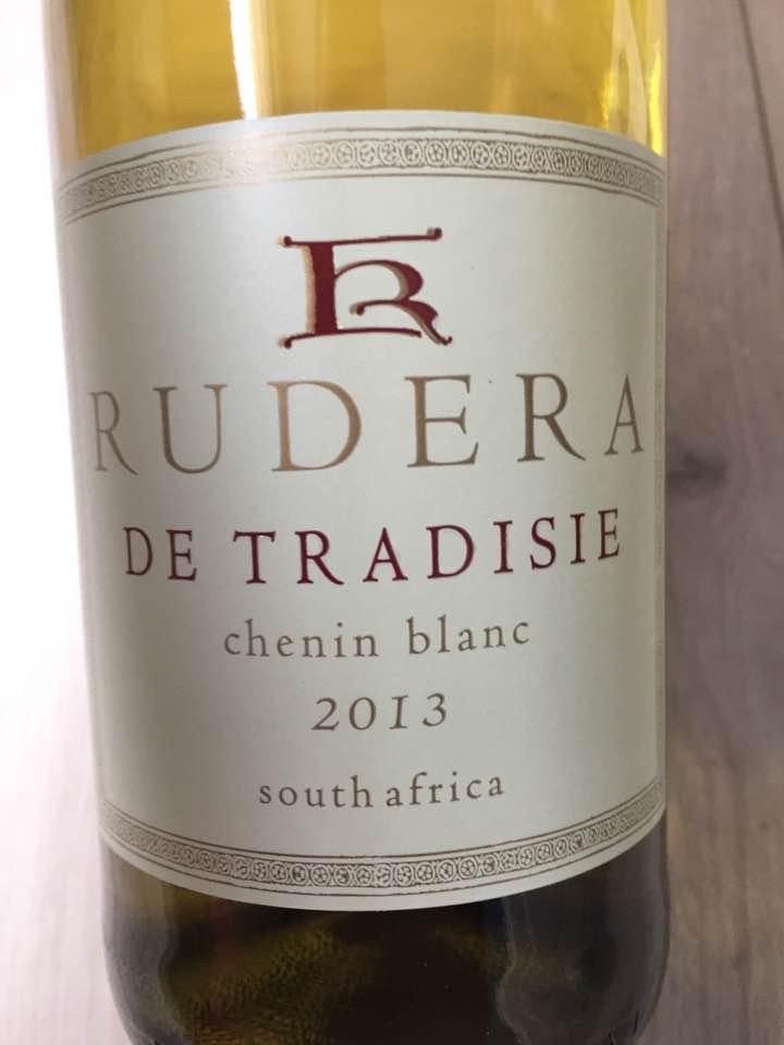 Rudera – De Tradisie Chenin Blanc 2013 – Stellenbosch, South Africa