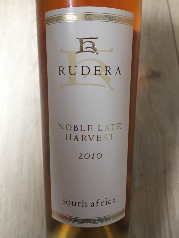 Rudera – Noble Late harvest 2010 – Stellenbosch, South Africa