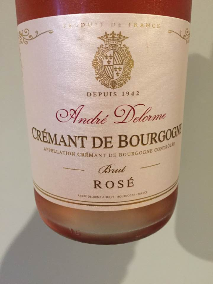 André Delorme – Brut Rosé – Crémant de Bourgogne