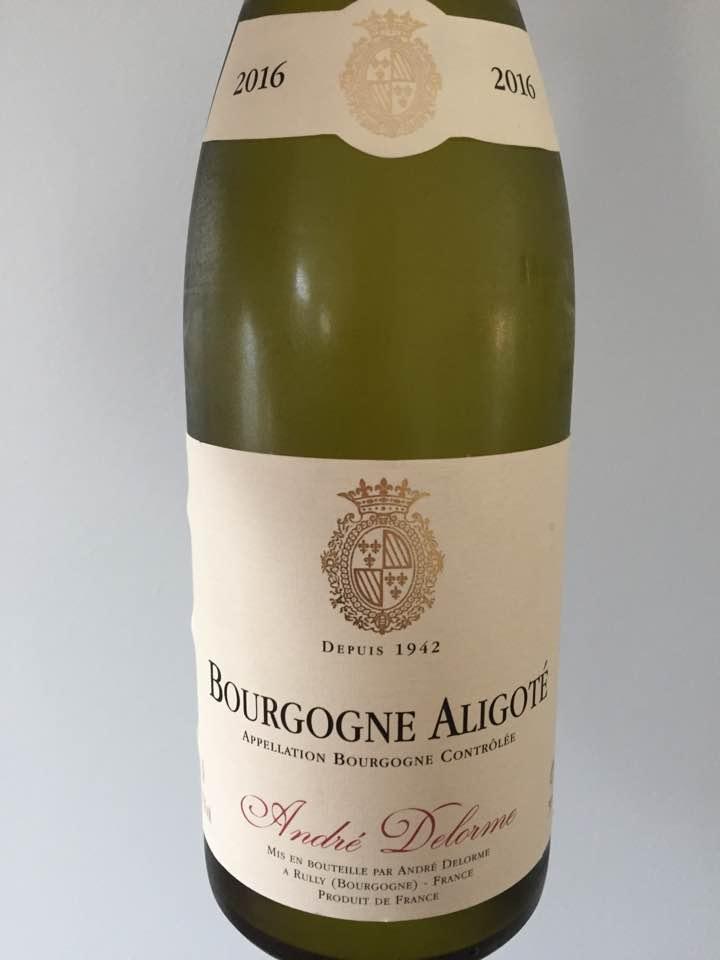 André Delorme 2016 – Bourgogne Aligoté
