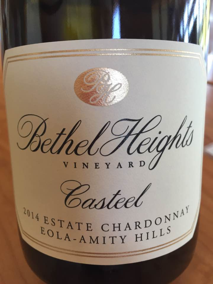 Bethel Heights Vineyard – Casteel 2014 Estate Chardonnay – Eola-Amity Hills – Willamette Valley