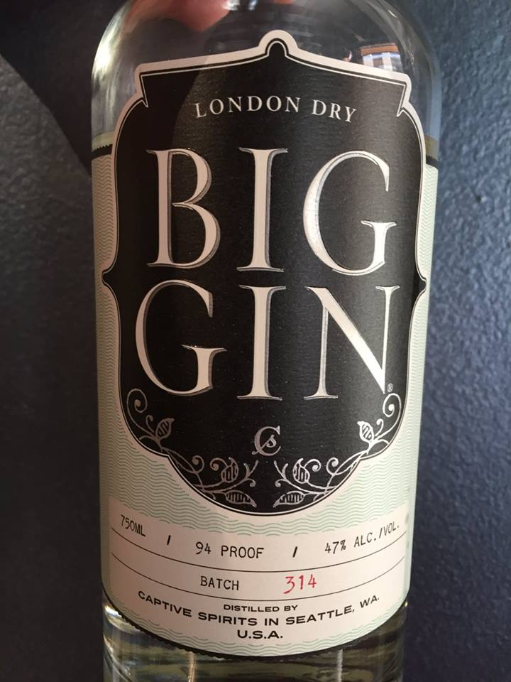 Big Gin – London Dry – Batch 314 – 94 Proof