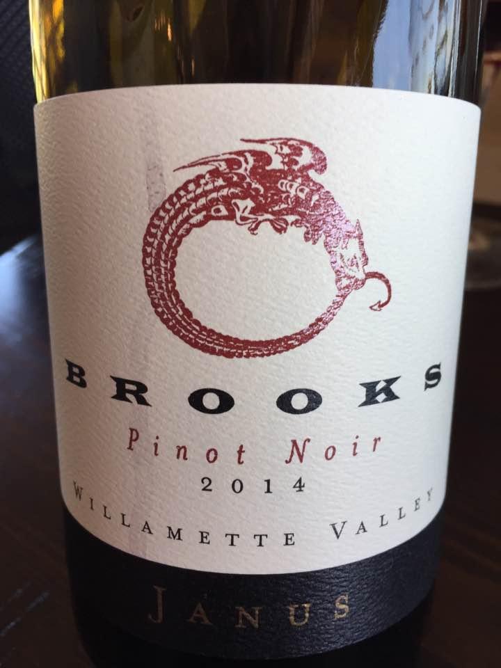 Brooks – Pinot Noir 2014 Janus – Willamette Valley