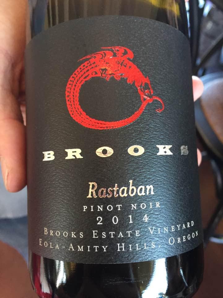 Brooks – Rastaban 2014 Pinot noir – Brooks Estate Vineyard – Eola-Amity hills, Oregon