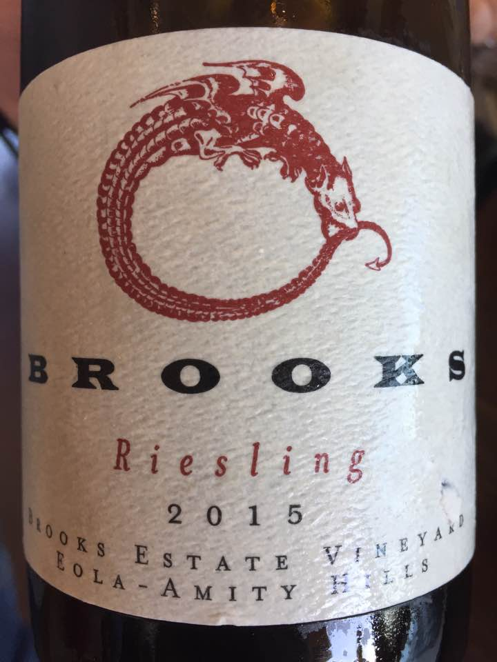 Brooks – Riesling 2015 – Brooks Estate Vineyard – Eola-Amity Hills, Oregon