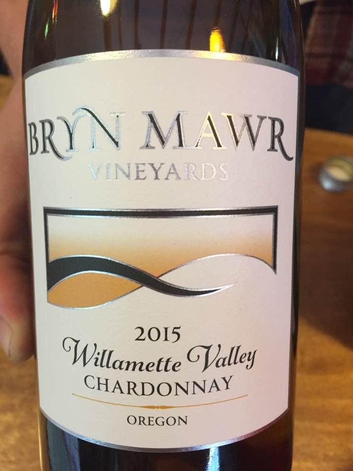 Bryn Mawr – Chardonnay 2015 – Willamette Valley