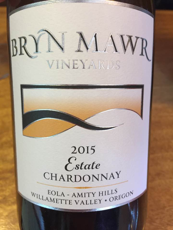 Bryn Mawr – Estate Chardonnay 2015 – Eola Amity Hills – Willamette Valley
