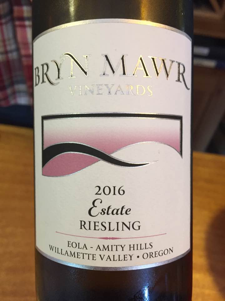 Brywn Mawr – Riesling Estate 2016 – Eola Amity Hills – Willamette Valley