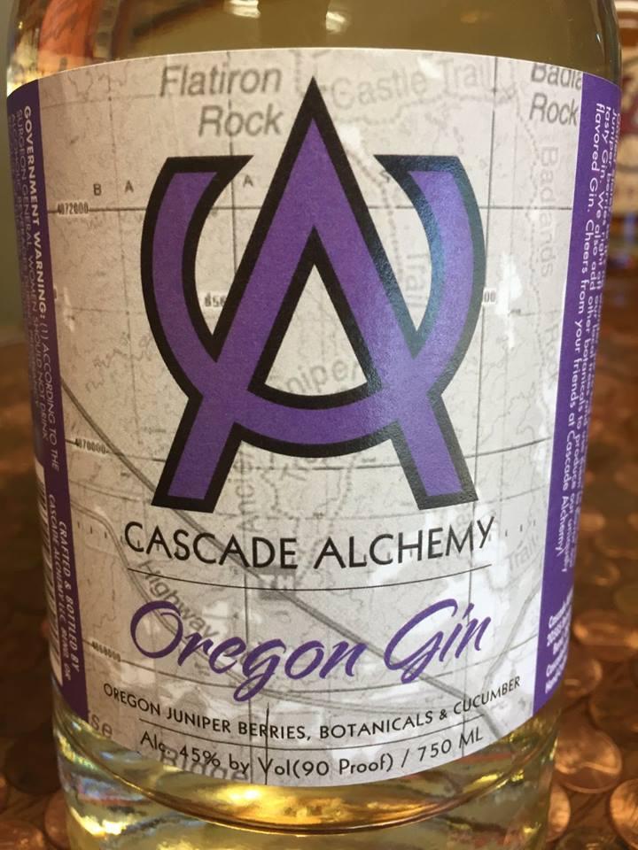 Cascade Alchemy – Oregon Gin