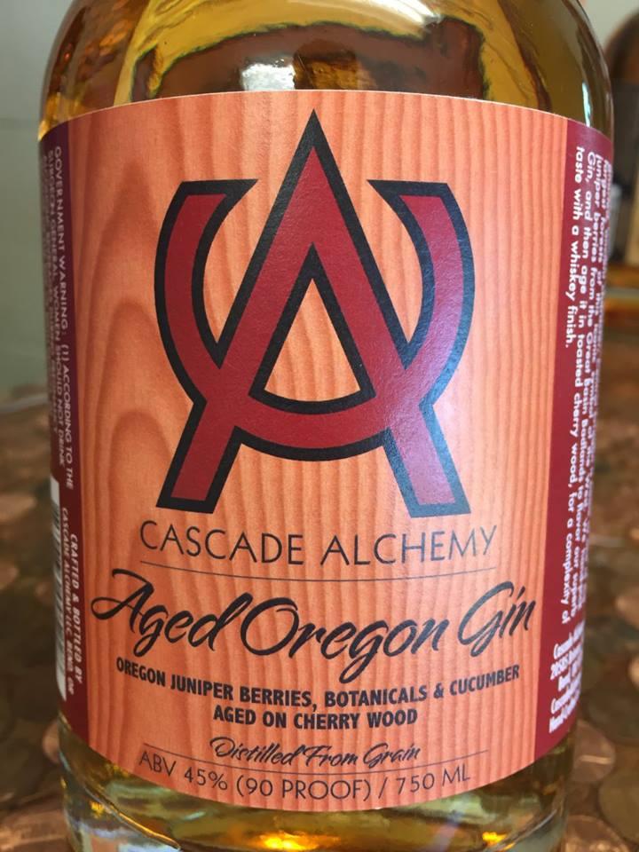 Cascalde Alchemy – Aged Oregon Gin