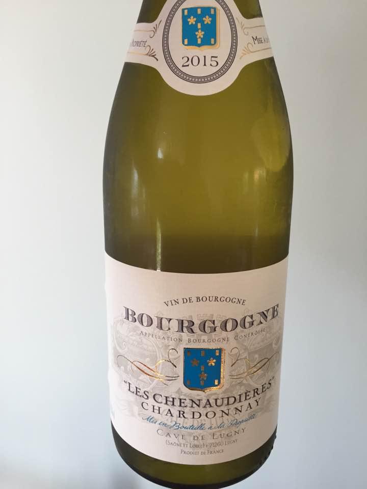 Cave de Lugny – Les Chenaudières 2015 – Chardonnay – Bourgogne