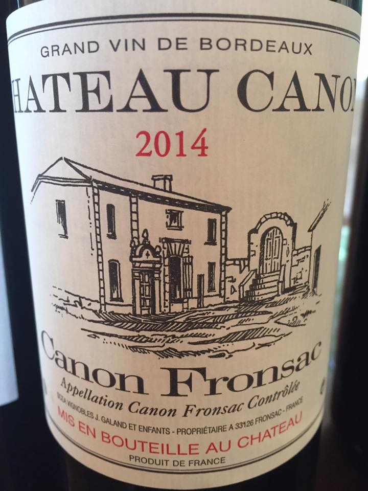 Château Canon 2014 – Canon-Fronsac
