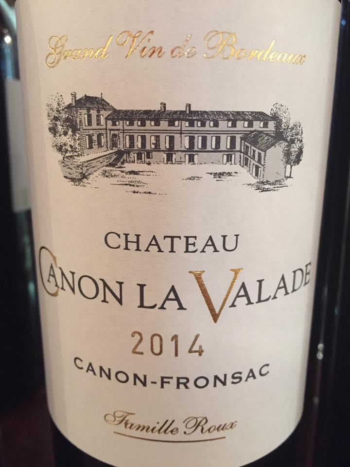 Château Canon La Valade 2014 – Canon-Fronsac
