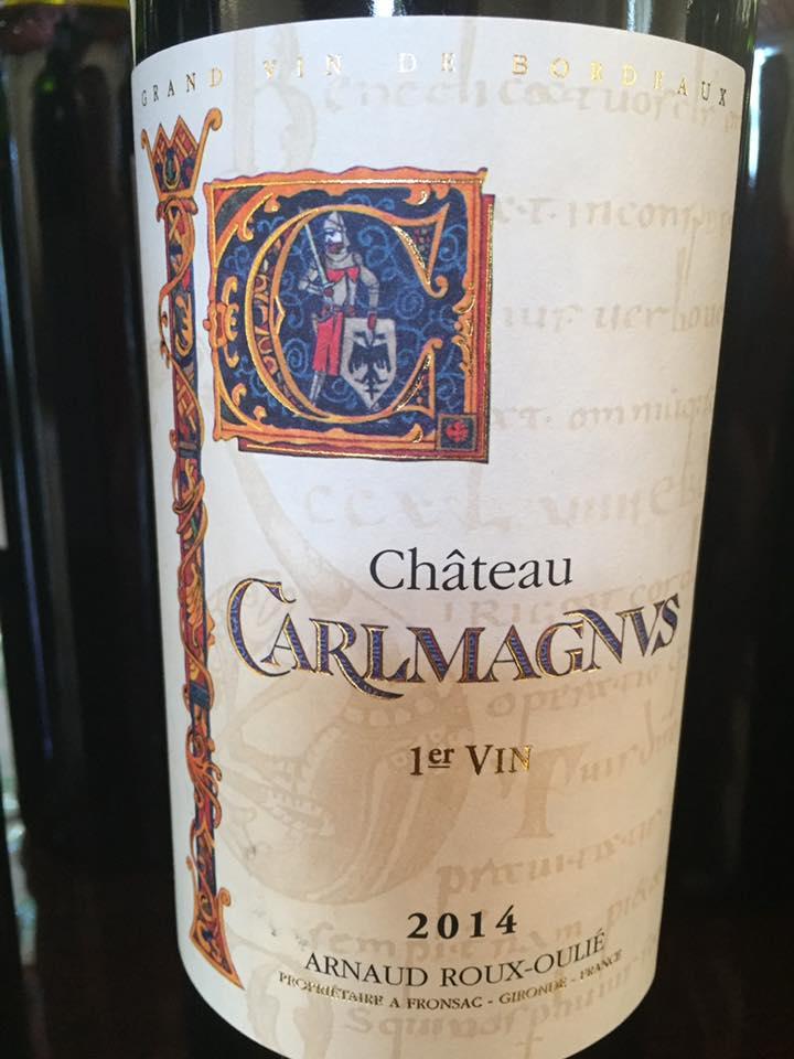 Château Carlmagnus 2014 – Fronsac