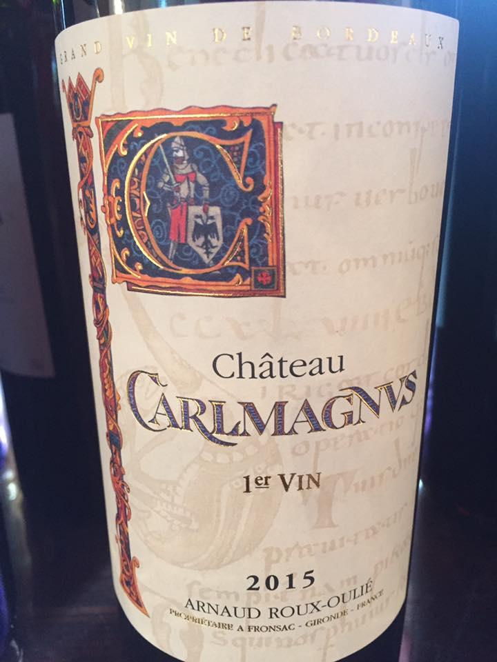 Château Carlmagnus 2015 – Fronsac