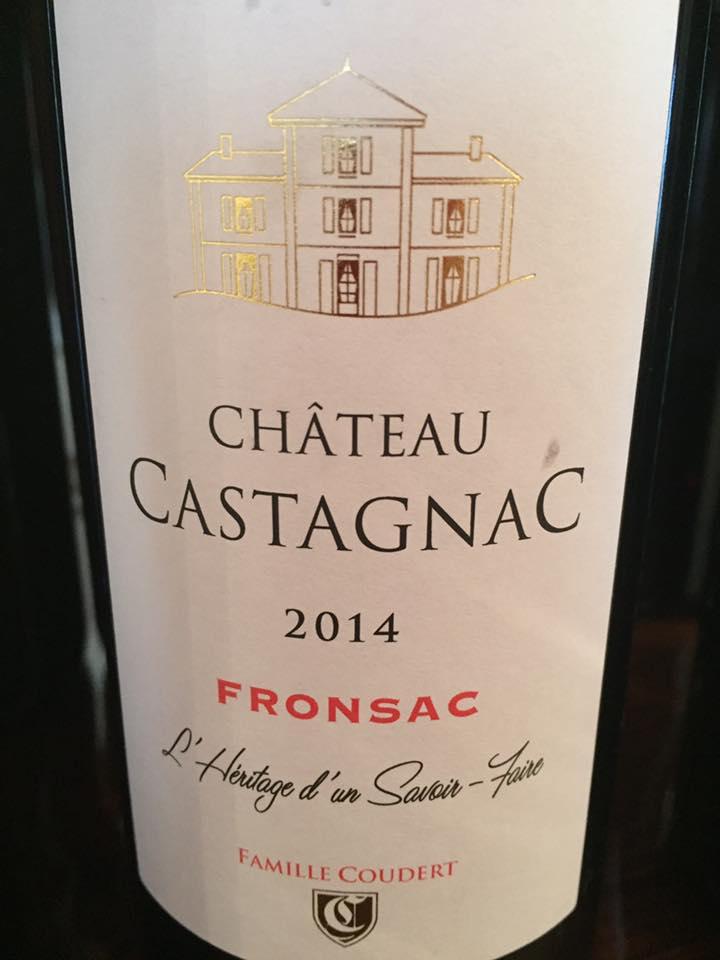 Château Castagnac 2014 – Fronsac