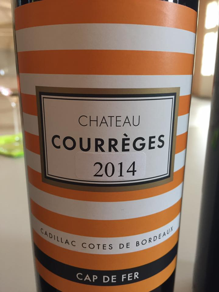 Château Courrèges 2014 – Cadillac Côtes de Bordeaux