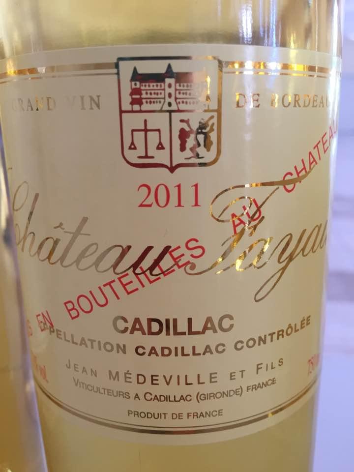 Château Fayau 2011 – Cadillac