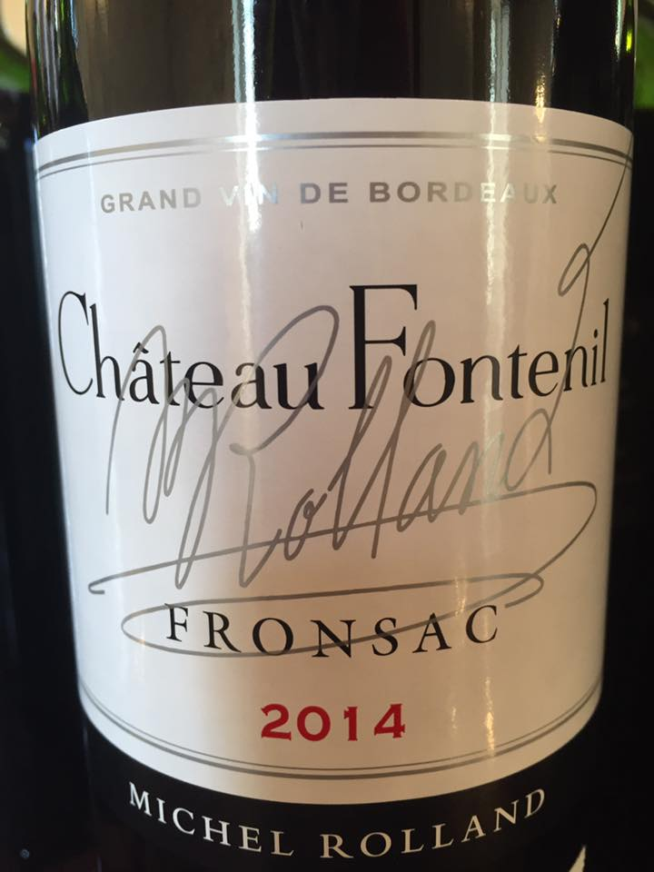 Château Fontenil 2014 – Fronsac