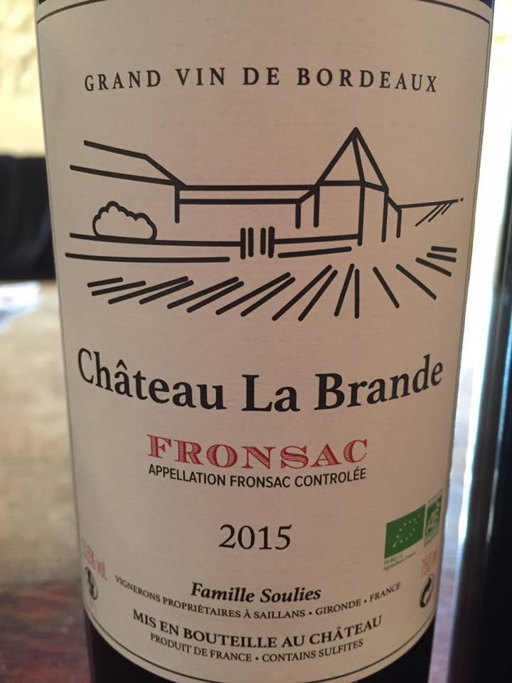Château La Brande 2015 – Fronsac