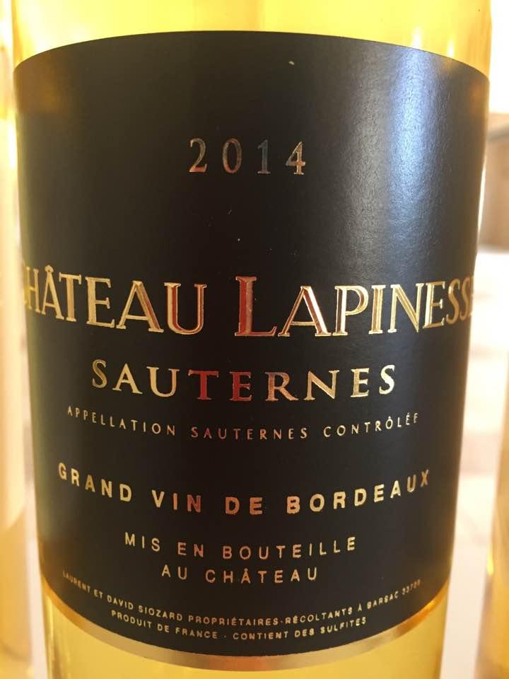 Château Lapinesse 2014 – Sauternes