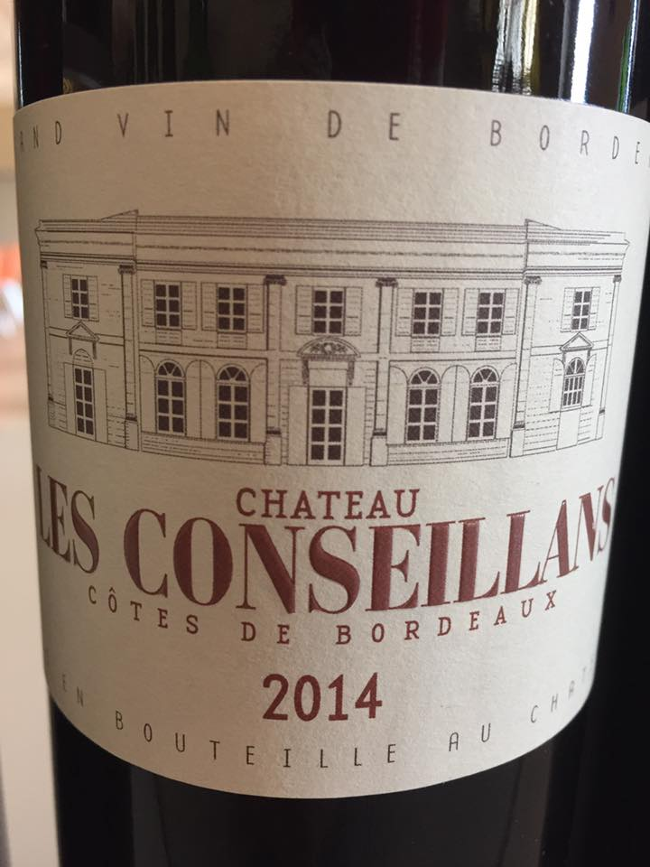 Château Les Conseillans 2014 – Côtes de Bordeaux