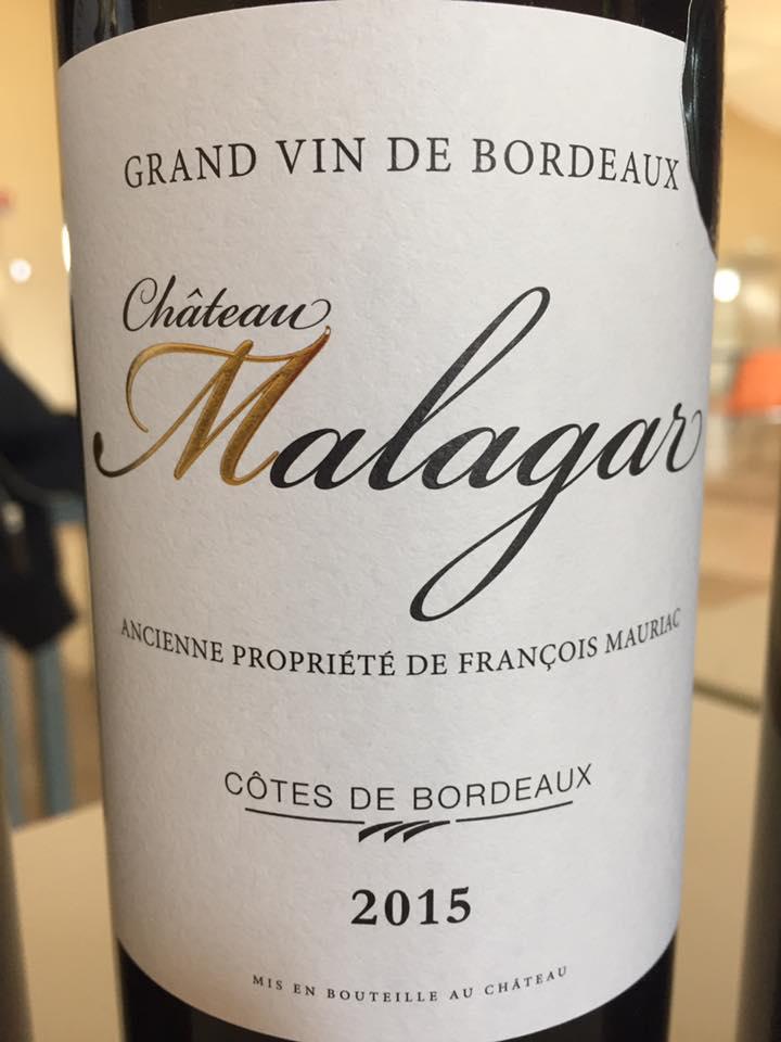 Château Malagar 2015 – Côtes de Bordeaux