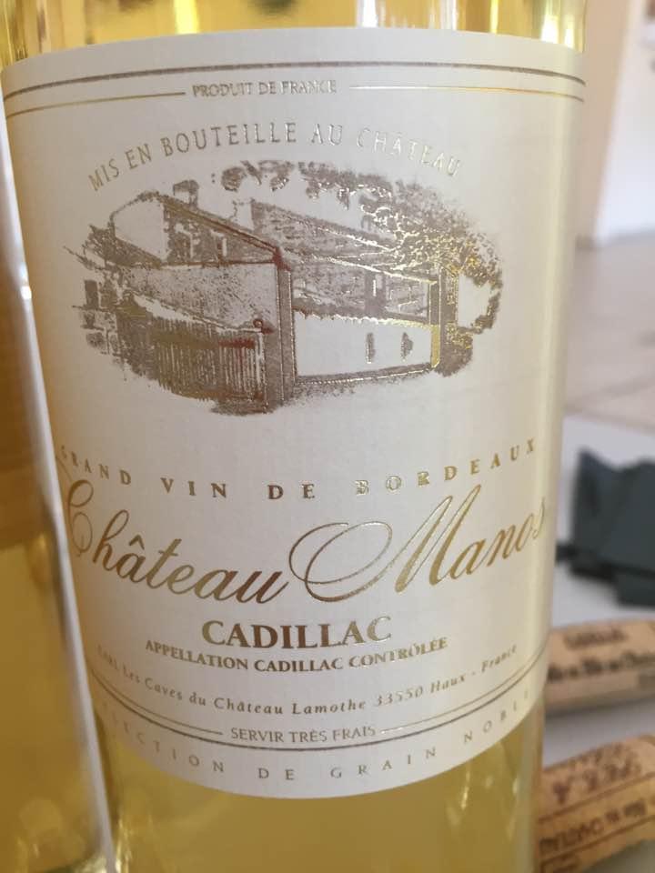 Château Manos 2016 – Cadillac