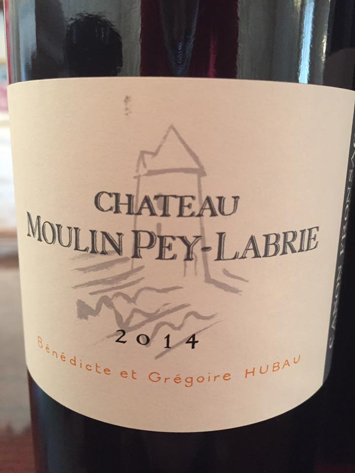 Château Moulin Pey Labrie 2014 – Canon-Fronsac