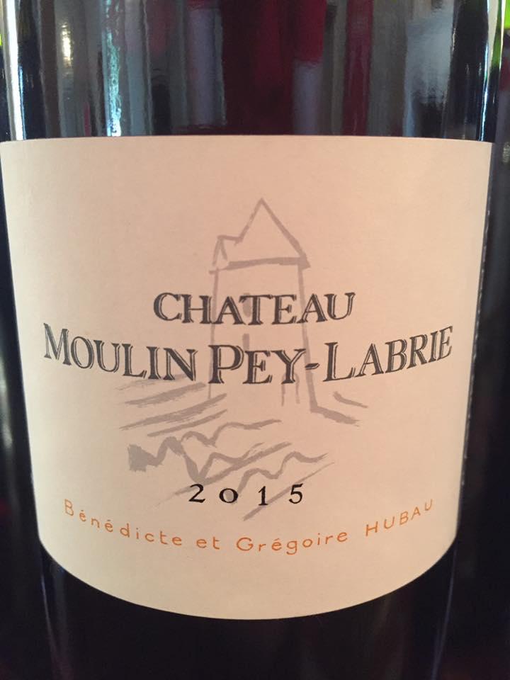 Château Moulin Pey Labrie 2015 – Canon-Fronsac