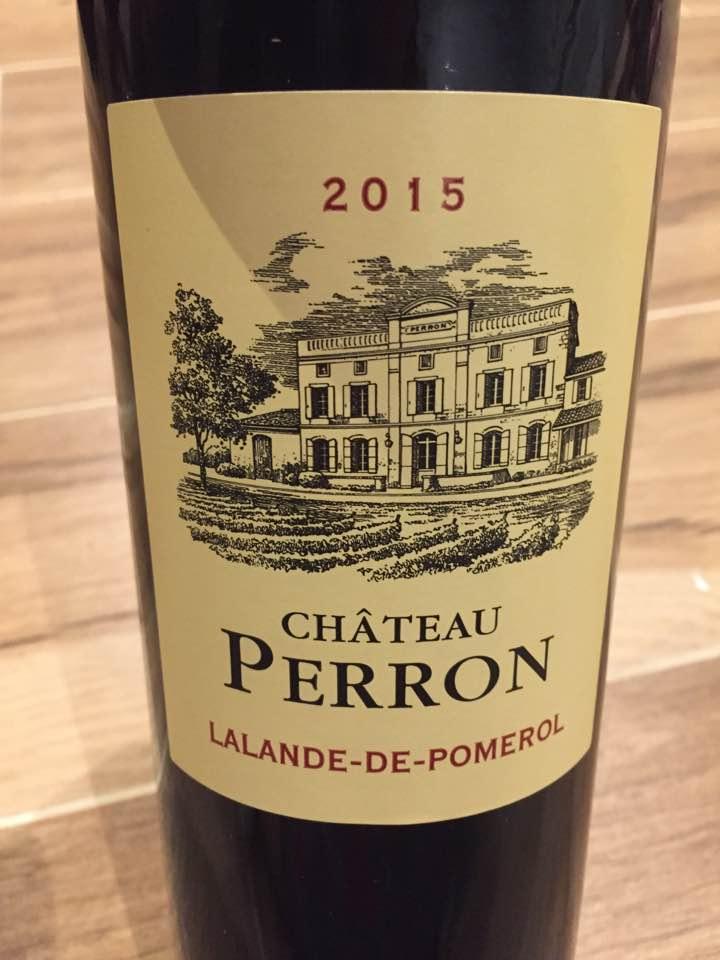 Château Perron 2015 – Lalande-de-Pomerol