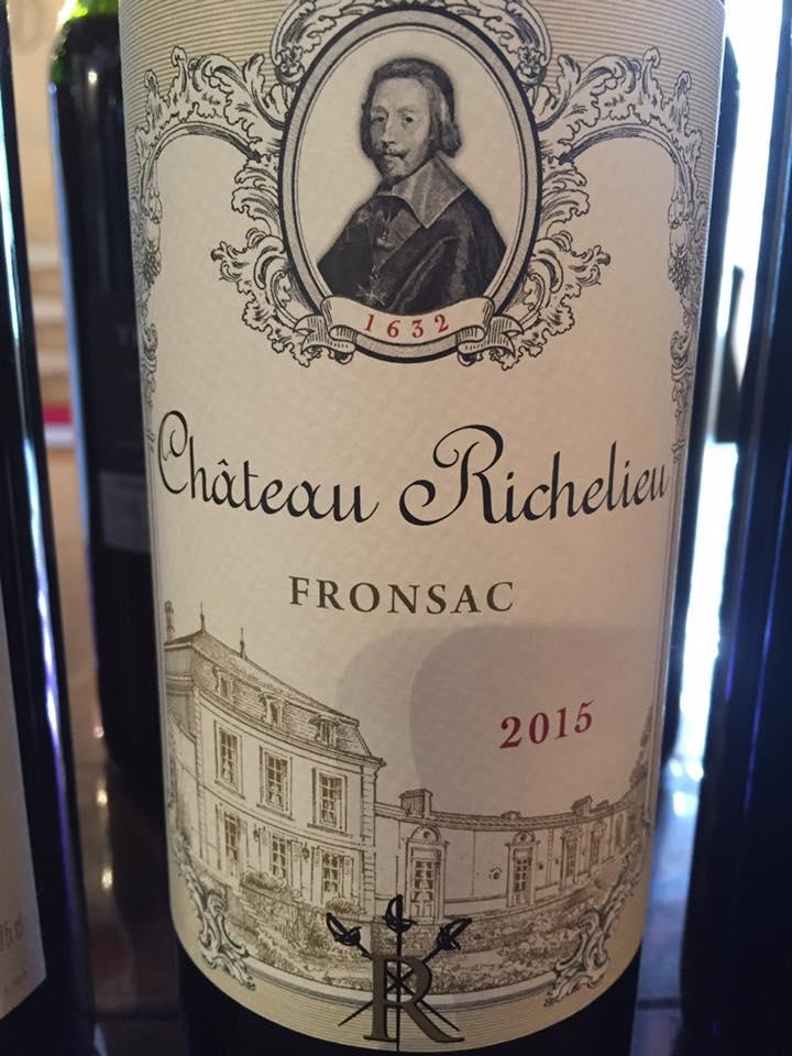 Château Richelieu 2015 – Fronsac