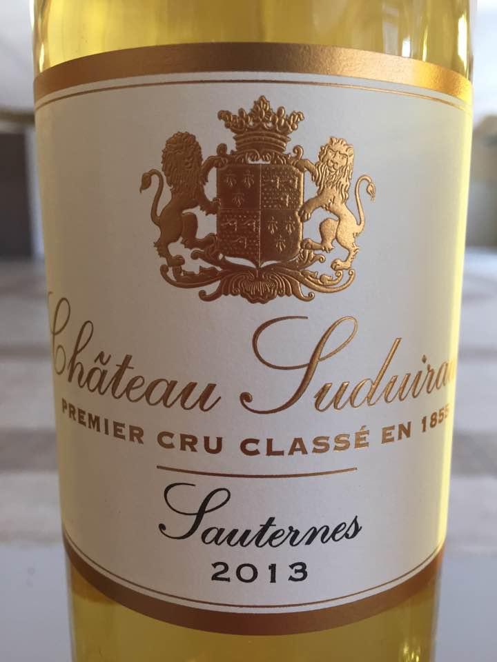 Château Suduiraut 2013 – Sauternes, Premier Cru Classé