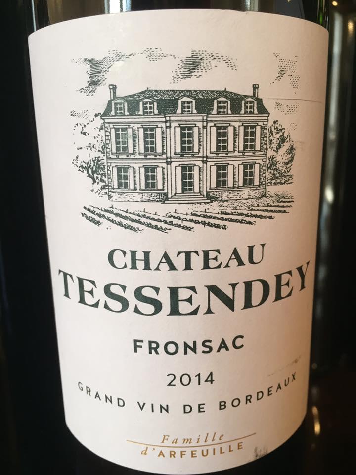 Château Tessendey 2014 – Fronsac